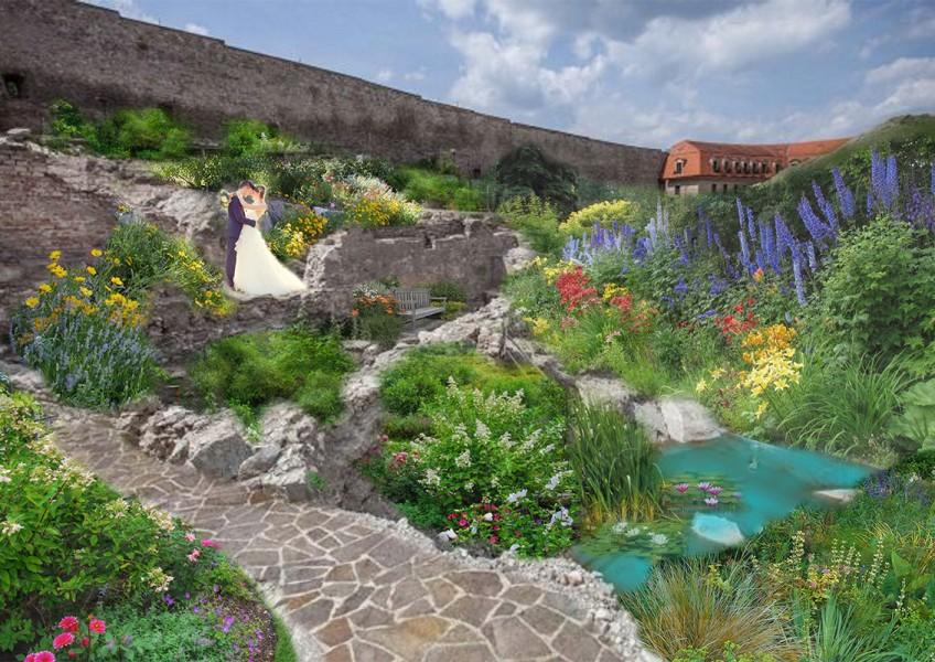 1. Bratislavsky hrad- park a rimske vykopavky 1