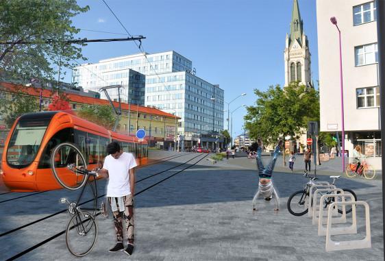 Bike corridor – Radlinského Street