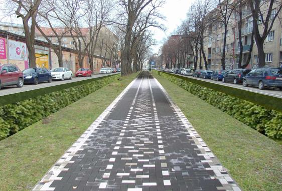 Public verdure – a small park